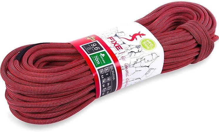 Fixe Siurana Cuerdas, Sin género, Rojo, 10: Amazon.es ...