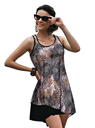 Jamu Australia Women's Caye Mastectomy Dress With Pocketed Shelf ...