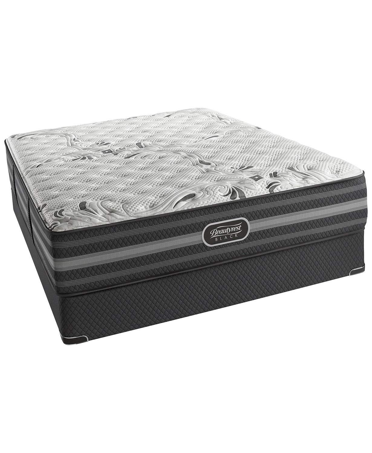 Simmons Beautyrest Black Giada Extra Firm King Mattress Mattress with Rize Clarity II Adjustable Base by Mattress