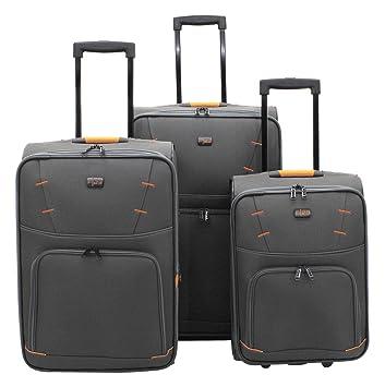 3 teiliges kofferset stoff