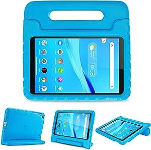 ProCase Kids Case for Lenovo Tab M8 HD/Smart Tab M8/Tab M8 FHD 2019, Lightweight Shockproof Kids Friendly Case for Lenovo M8 TB-8505F TB-8505X TB-8505FS TB-8705F TB-8705N 8.0 Inch Tablet -Blue