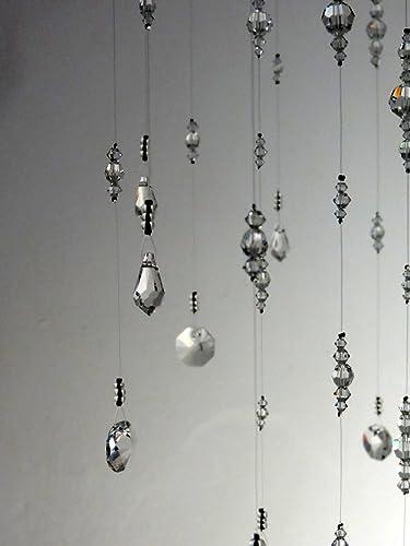 Amazon medium crystal chandelier mobile hanging crystal medium crystal chandelier mobile hanging crystal garland swarovski nursery mobile baby crystal mobile bling wedding decor aloadofball Choice Image