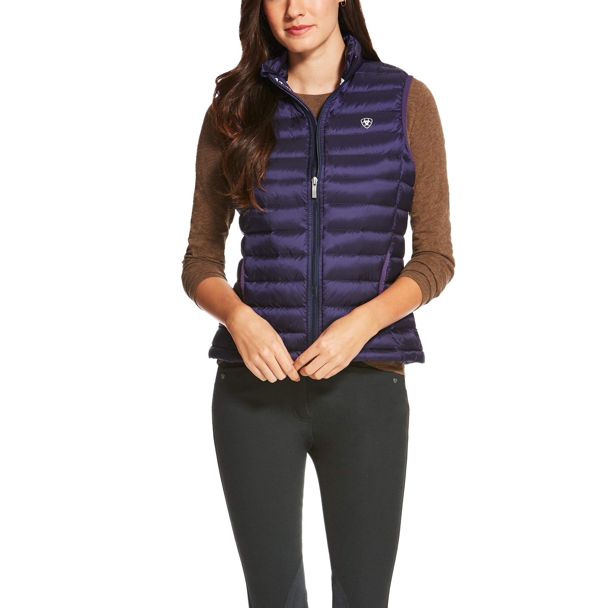 ARIAT Women's Ideal Down Vest Eclipse Size Large by ARIAT