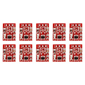 10pcs TTP223 2.5-5.5V Capacitive Touch Switch Button Self-Lock Module fr Arduino