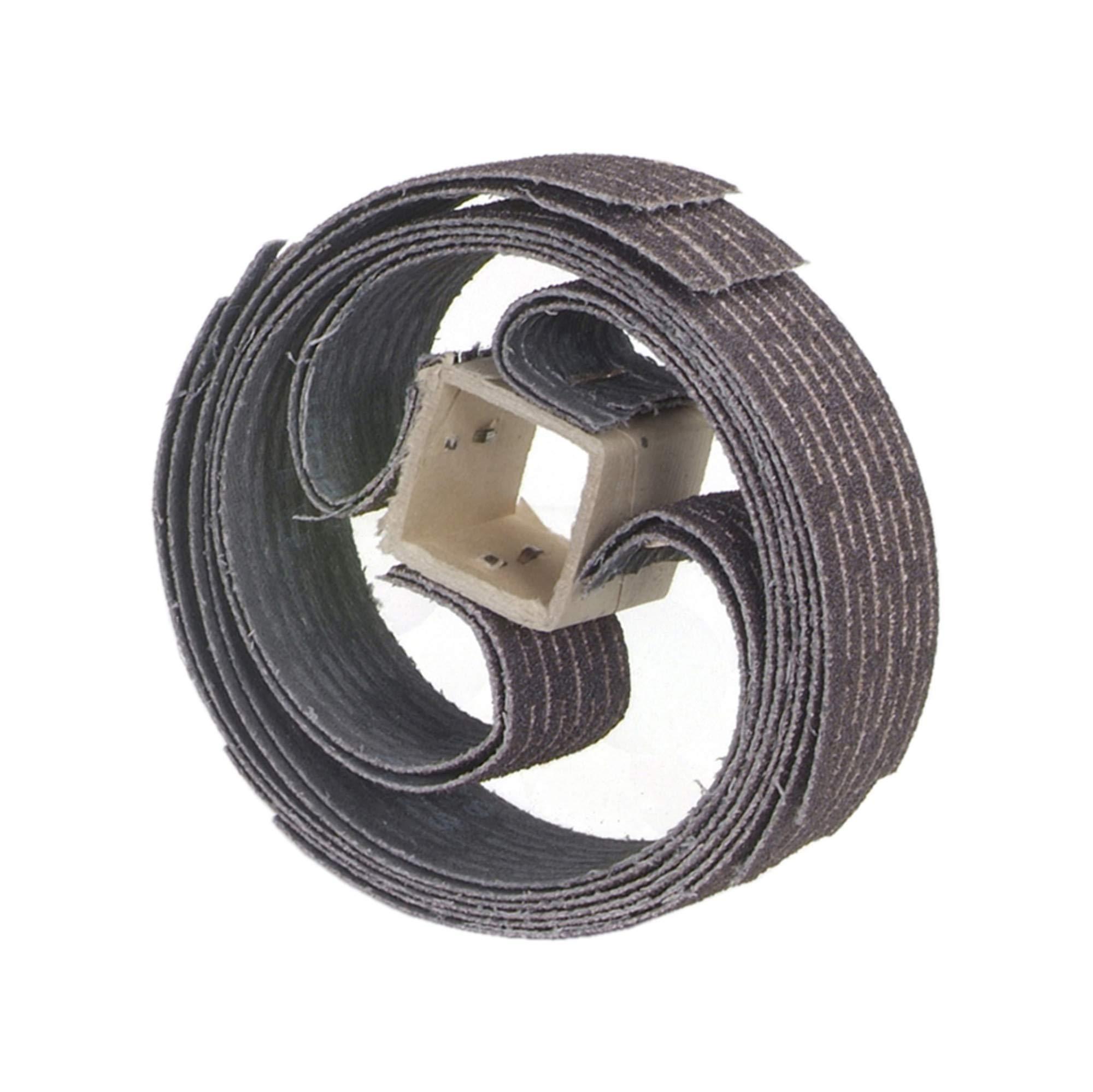 Merit Resin Bond Refill for 350-RP SCORED Wheel, Aluminum Oxide, Grit 120 (Pack of 10)