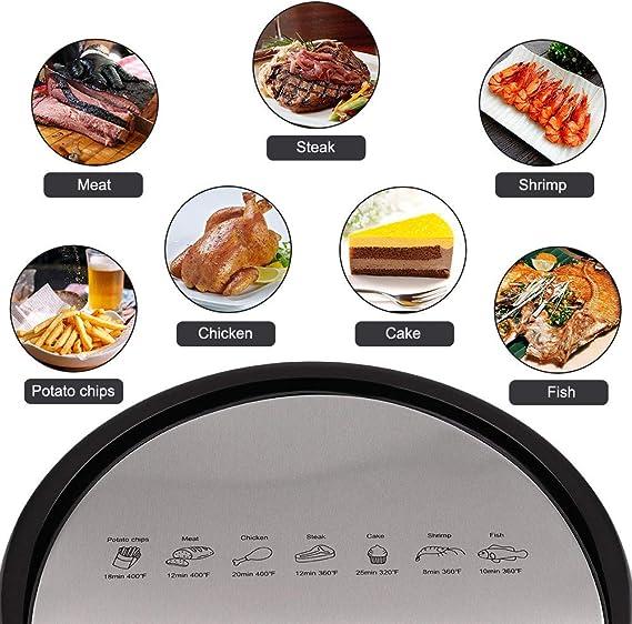 ARFYER Air Fryer 5.8-Quart Power Air Fryer Oven Oilless Cooker, 7-in-1 Digital Screen Air Fryer Dash XXL with Hot Air Circulation Tech for Fast ...