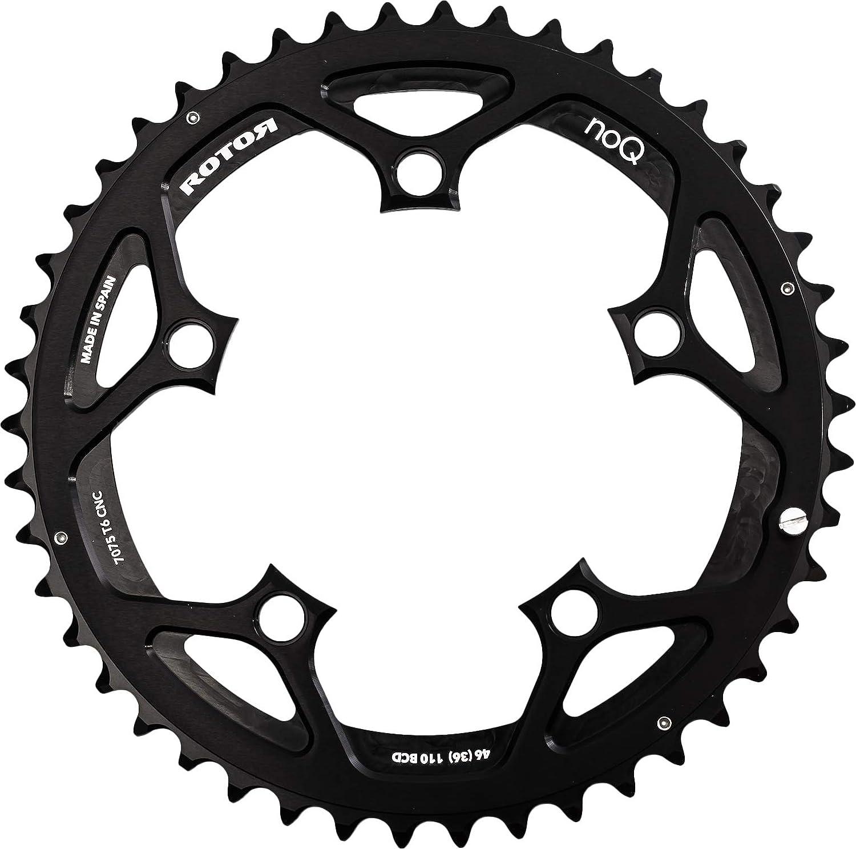 rotor C01–502–09020A-0–Bandeja de Bicicleta Unisex, Negro ROTO3|#Rotor C01-502-09020A-0