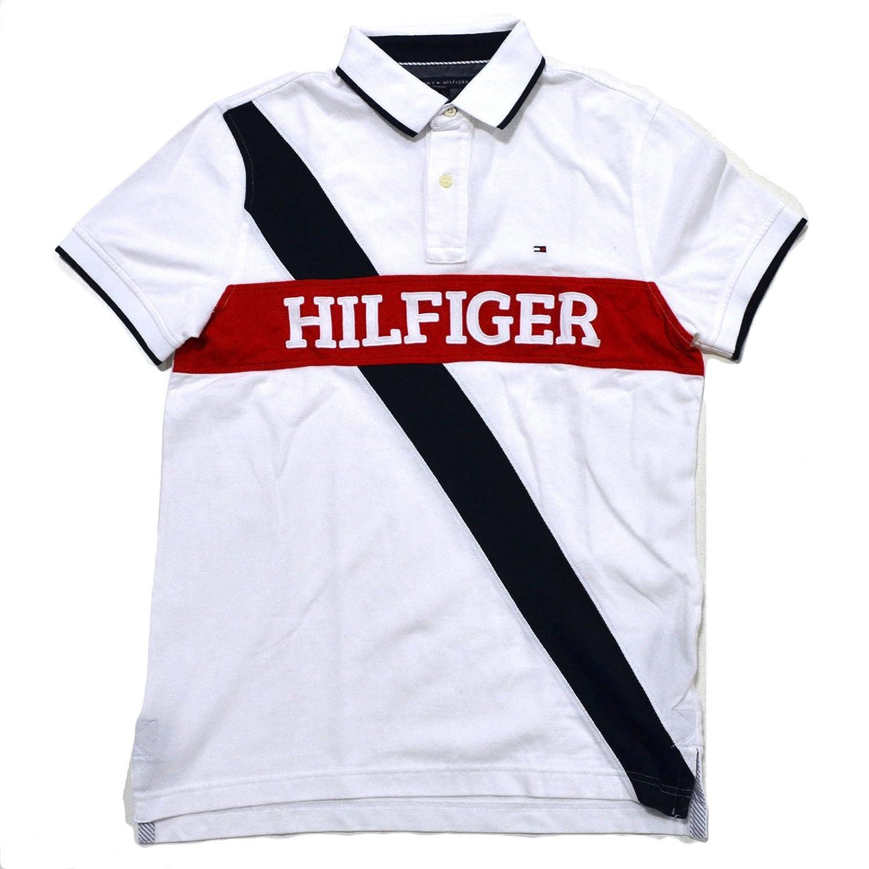 Tommy Hilfiger para hombre Custom Fit Malla de Logo Polo de manga ...