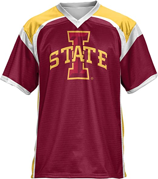 the best attitude 3abb9 0bd3e ProSphere Iowa State University Men's Football Jersey (Red Zone)