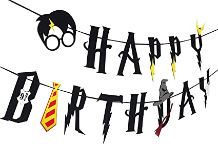 Amazon.com: DK Harry Potter Party Supplies - Guirnalda de ...