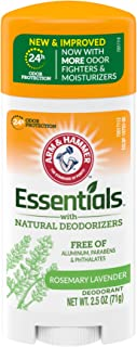product image for ARM & HAMMER Essentials Deodorant- Fresh Rosemary Lavender- Solid Oval- 2.5oz- Made with Natural Deodorizers- Free From Aluminum, Parabens & Phthalates