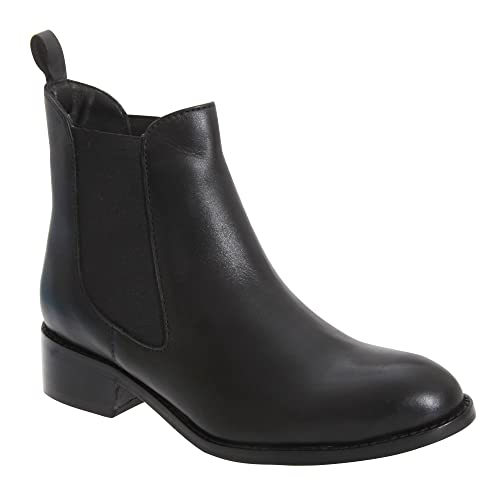 3a153da8709 Mod Comfys Womens/Ladies Twin Gusset Ankle Boots: Amazon.co.uk: Shoes & Bags