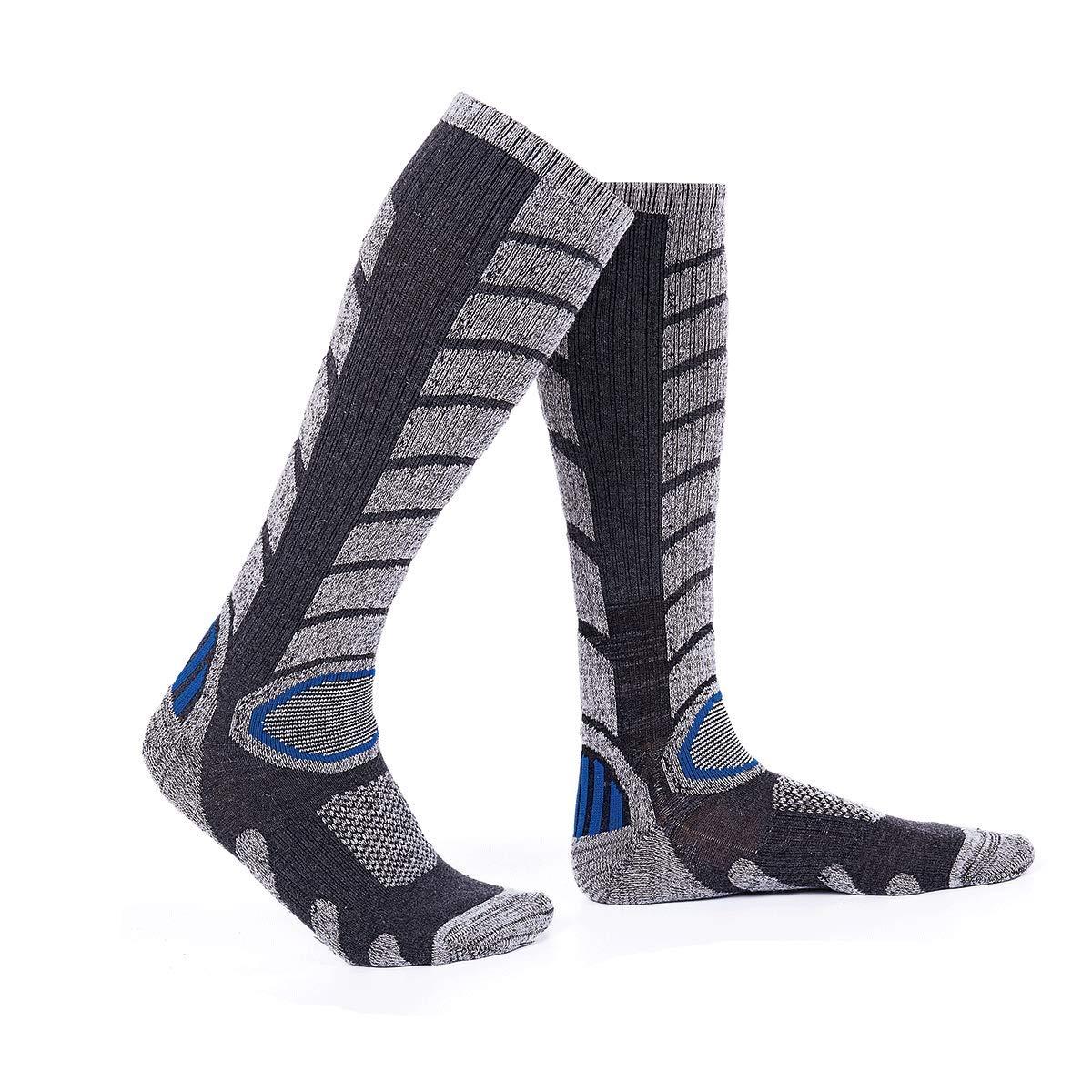 Over the Calf Warm Snow Socks for Skiing and Snowboarding Forestgrow Mens High Performance Ski Socks