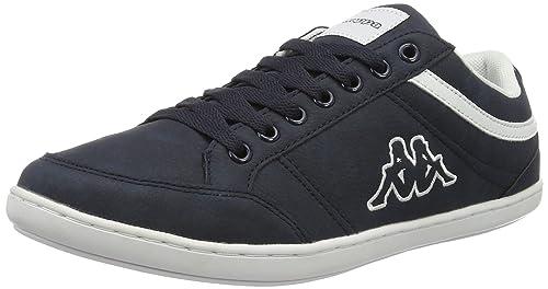 Kent Low II, Zapatillas para Hombre, Azul (Navy/White), 46 EU Kappa