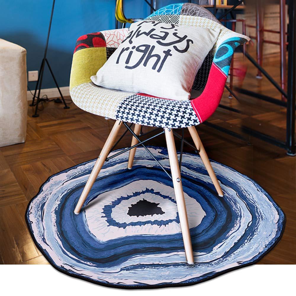 VICCKI Anti-Skid Geode Rock Floor Rug Dining Living Room Bedroom Carpet Floor Mat