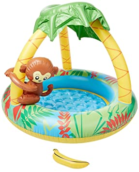 JILONG Monkey Baby Pool - Piscina Infantil con Suelo ...