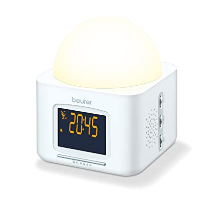 Beurer Wake Up Light.Beurer Wl30 Wellness Wake Up Dawn Simulator White