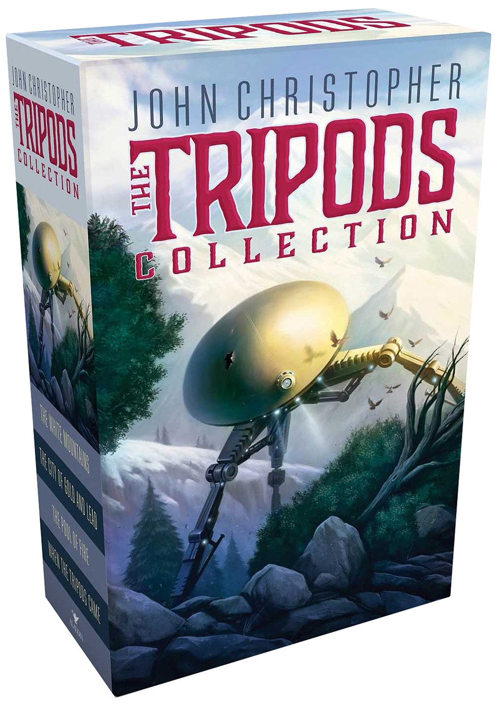 Uncategorized Tripod Books amazon com the tripods collection white mountains city of gold and lead pool fire when came 978148141505