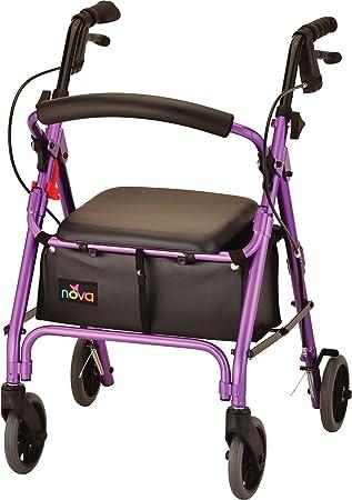 Amazon.com: NOVA GetGo Classic Andador con ruedas (tamaño ...
