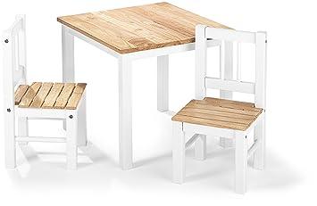 Kindermöbel tisch und stühle  IMPAG ® Kinder-Sitzgruppe | 1 Tisch, 2 Stühle, 1 Truhenbank ...