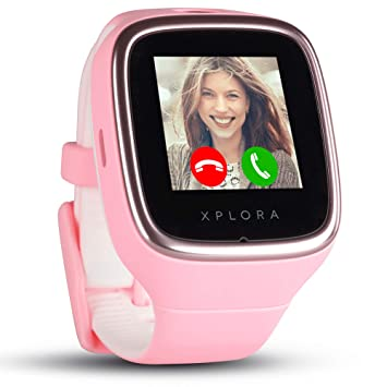 XPLORA 3S - Smartwatch Resistente al Agua para tu hijo (SIM no incluida) - Llamadas, Mensajes, Modo Colegio, función SOS, Localización GPS y Cámara, ...