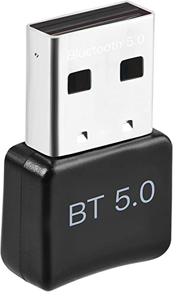 ACTGON Adaptador Bluetooth para PC, USB Bluetooth 5.0 Dongle para Portatil, Auriculares, Altavoz, Teclado USB Bluetooth PC Compatible con Windows 10, ...