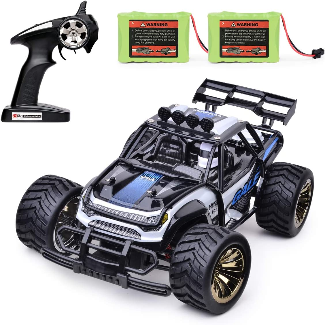 Toy Cars That You Can Drive >> Remote Control Car Toy 1 16 Rc Vehicles 2 4ghz Radio Remote Control Truck 15km H High Speed Monster Crawler With 2 Rechargeable Ni Mh Battery Racing