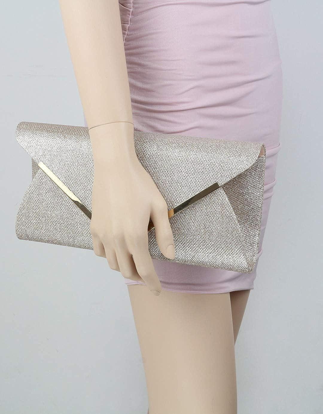 Girly Handbags D 6 cm W 11, H 6, D 2.3 inches Cartera de mano para mujer W 27 H 15