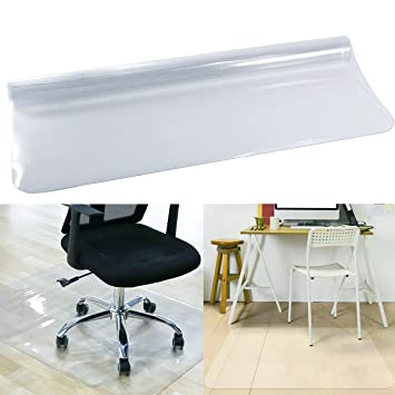 Anladia CLE DE Tous - PVC Protector para Suelo Protección de Suelos Duros Estera Alfombra de Silla para Suelo Casa Oficina (75x120cm): Amazon.es: Hogar