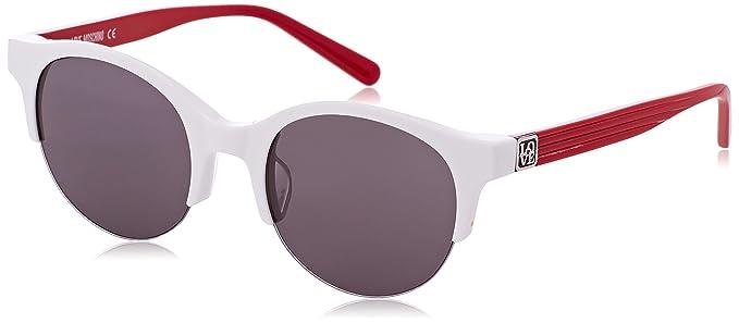 Womens Eye Sunglasses, Red (Rosso), 52 Moschino