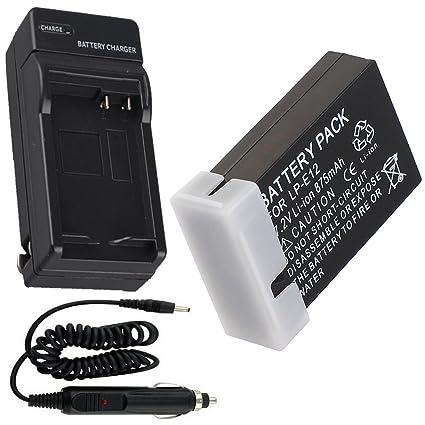 Batería + Cargador para Canon EOS M, EOS M10 Cámara réflex digital ...