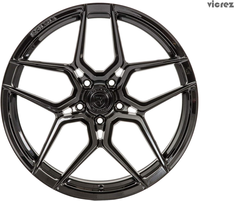Deep RFX11 19x9.5 5x120 35ET CB 72.56 Gloss Black