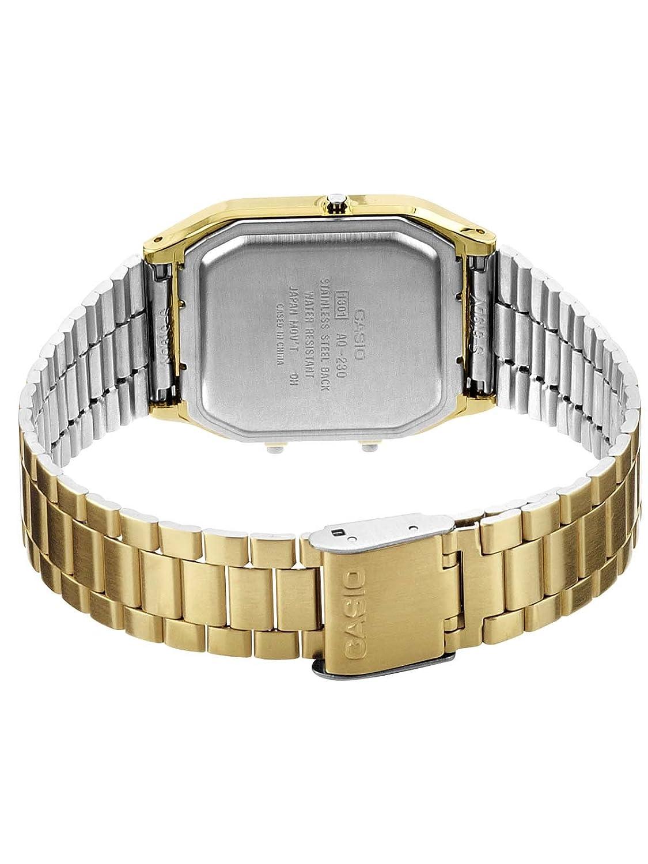 6ee73845a54 Relógio Feminino Anadigi Casio Vintage AQ-230GA-9DMQ - Dourado   Amazon.com.br  Amazon Moda