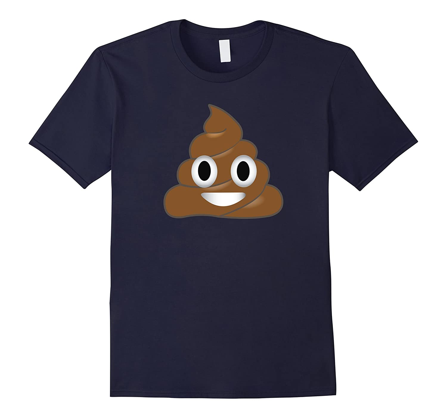 Emoji Poop Shirt ~ Novelty Funny t-shirt for Men Women Kids-BN