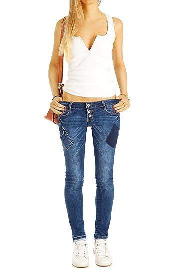 Bestyledberlin Damen Röhrenjeans, Skinny Fit Blue Jeans, Enge Hüftjeans j42k:  Amazon.de: Bekleidung