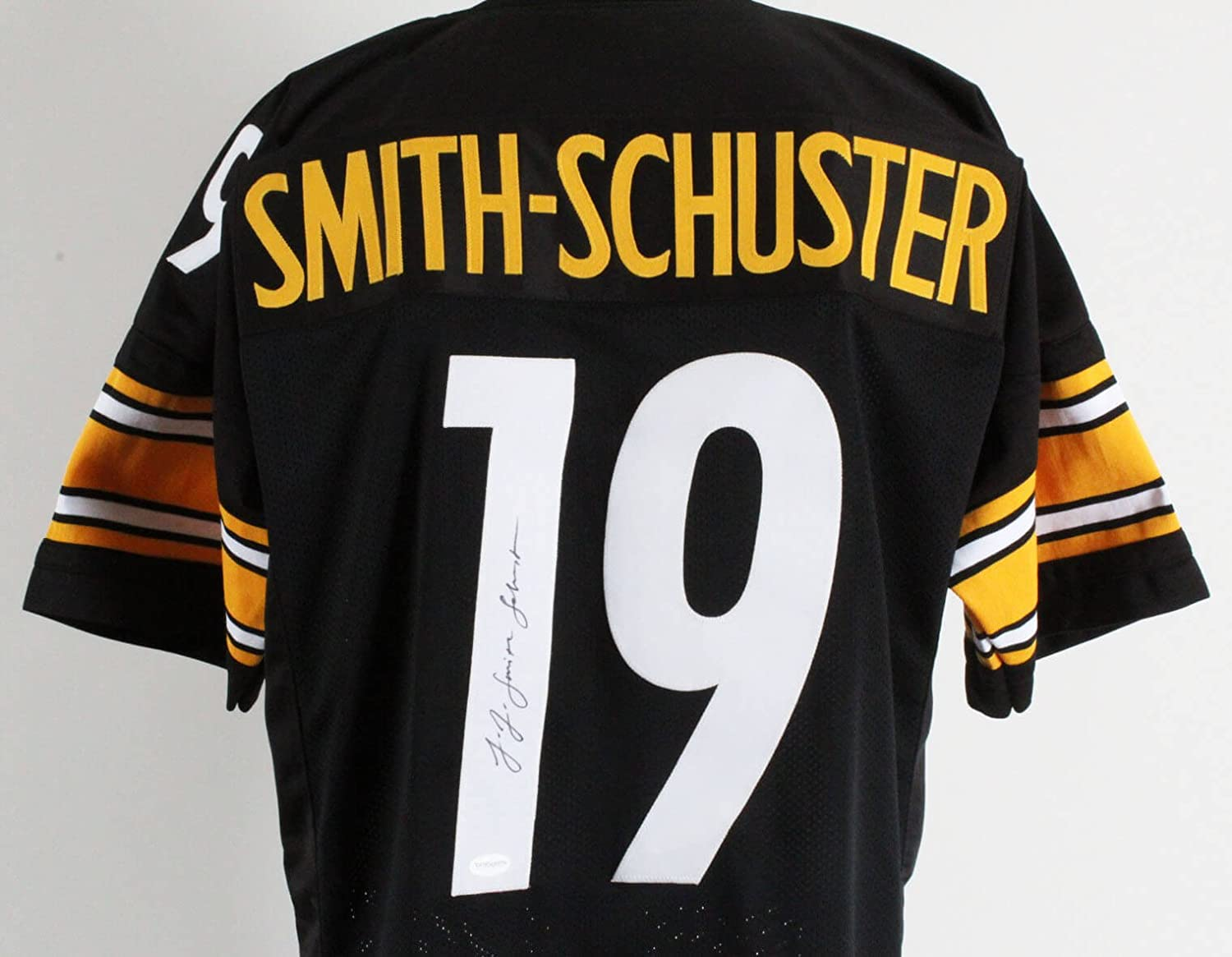 competitive price 6699c 69391 JuJu Smith-Schuster Signed Jersey Steelers - COA at Amazon's ...