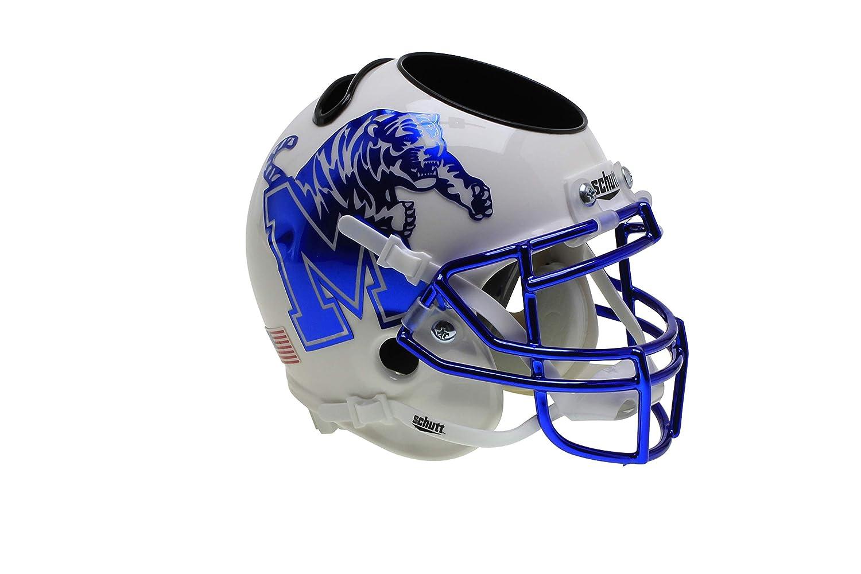 MEMPHIS TIGERS NCAA Schutt Mini Football Helmet DESK CADDY