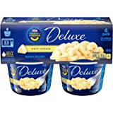 Kraft Deluxe Macaroni & Cheese Cups White Cheddar, 22 Cups (22 Count Total)