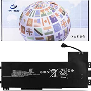 ANTIEE 90Wh VV09XL Laptop Battery for HP ZBook 15 G3 G4, ZBook 17 G3 Mobile Workstation HSTNN-DB7D HSTNN-C87C 808398-2B1 808398-2C1 808452-001 808452-002 808452-005 808398-2C2 VV09090XL 11.4V 9-Cell