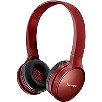 Panasonic RP-HF410BE-R Athleisure Style Wireless Headphone w Mic, Red