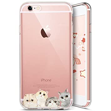 coque iphone 7 silicone transparent choc