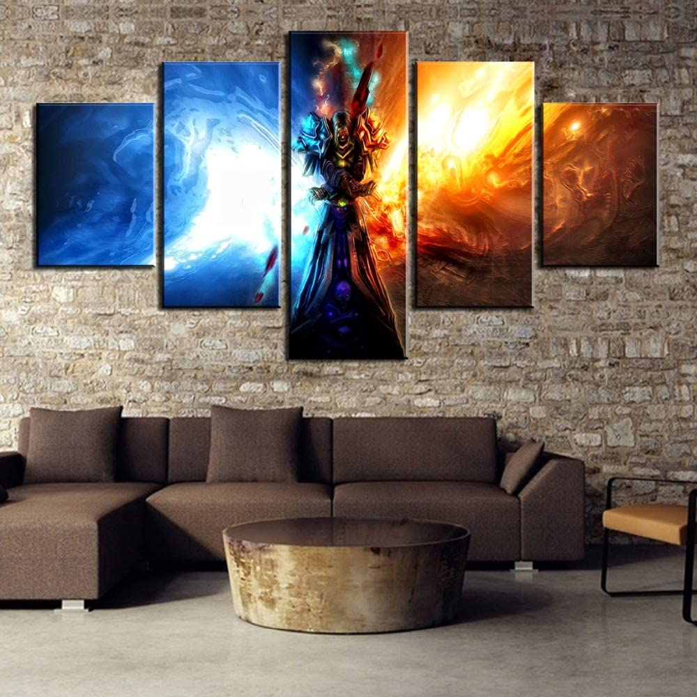 World of Warcraft Painting Poster New Waterproof