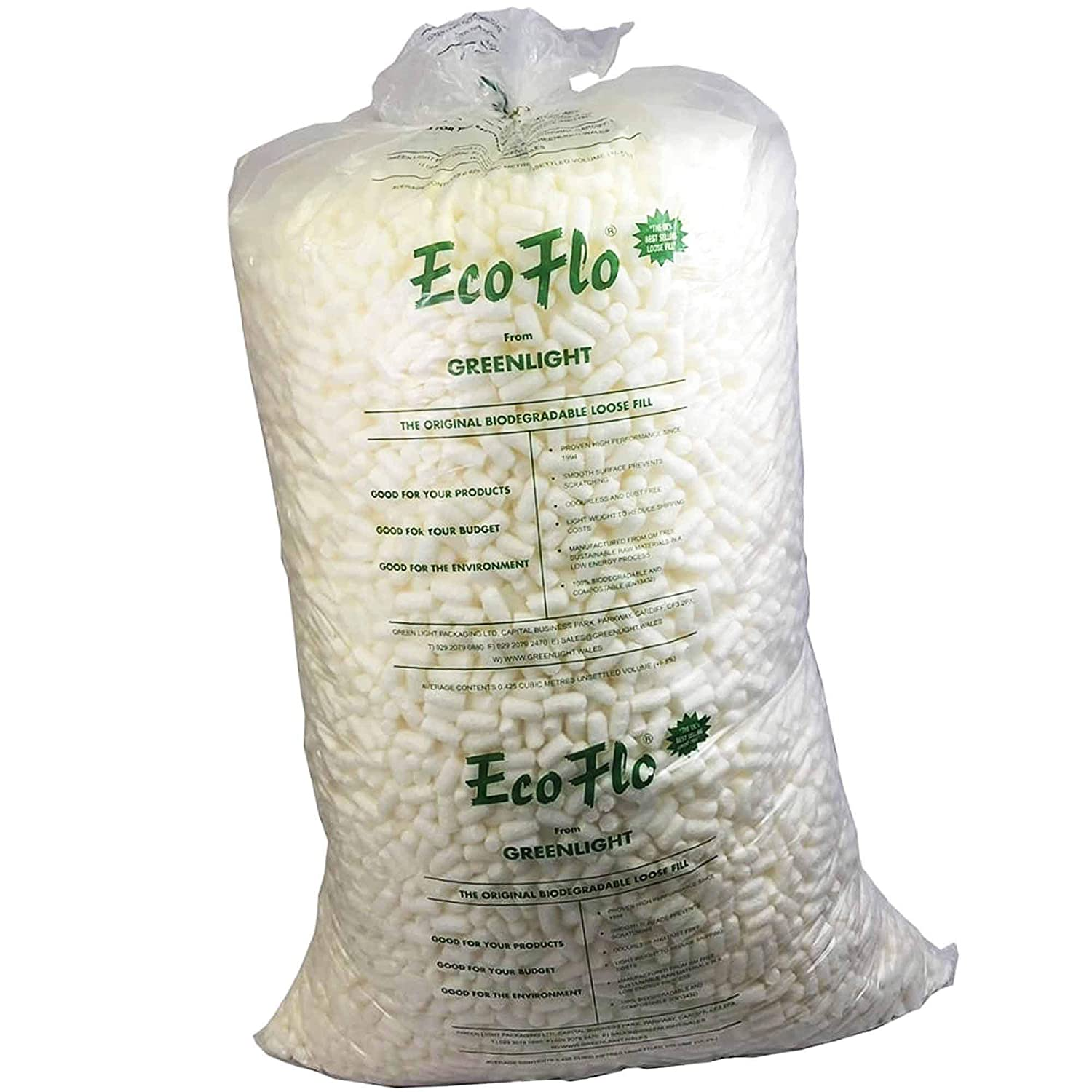15 Cubic Ft Bag Of LARGE Air Pillows Cushions Void Loose Fill