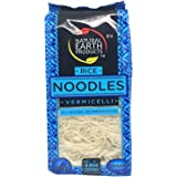 Fine Rice Noodles, Vermicelli, All Natural, No Preservatives, Vegan and Gluten-Free, Certified Kosher, 8.8oz Container (Single)