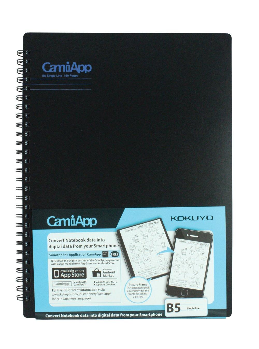 Kokuyo Camiapp Notebook B5- Single Line