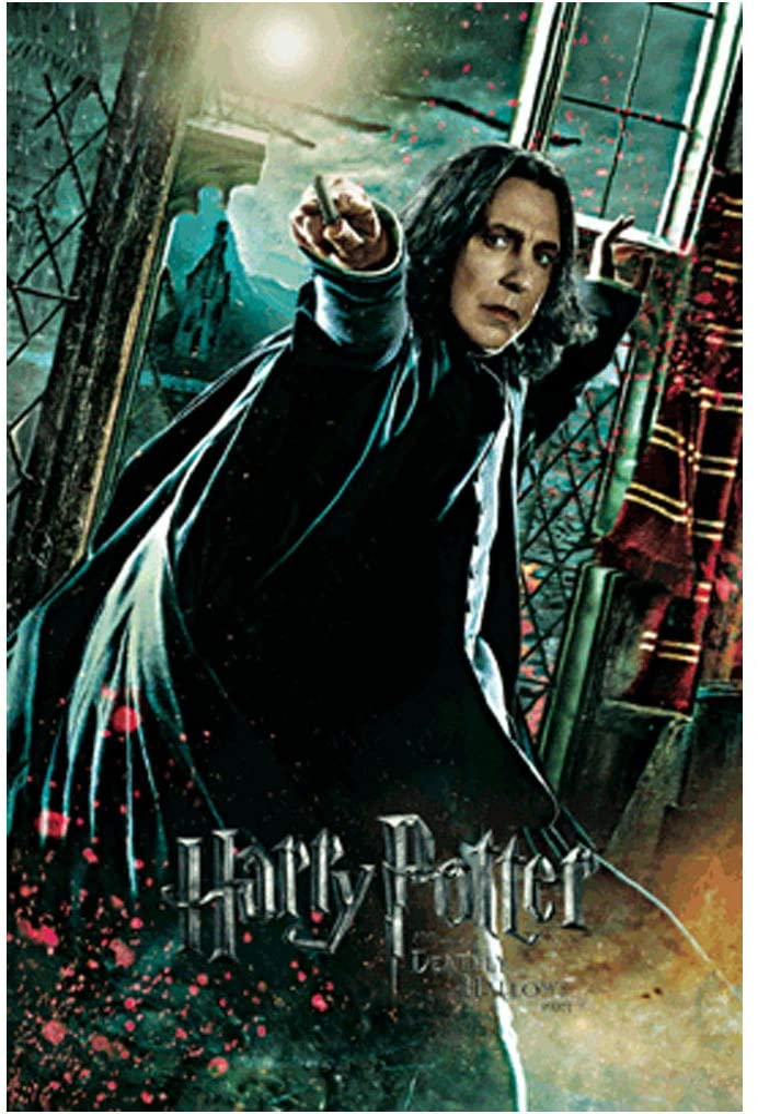 Harry Potter Severus Snape 3D Lenticular Card 3D Postcard