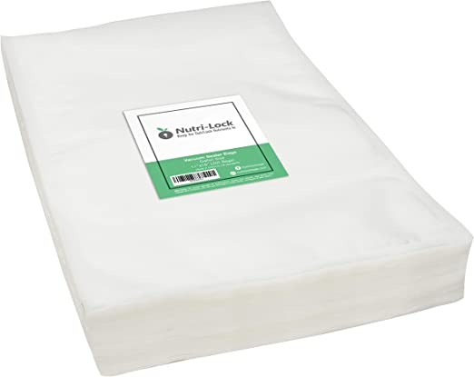 "400 8/"" x 12/"" Quart  Vacuum Sealer Embossed Bags Kitchen Food Saver Storage 4 Mil"