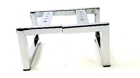 Charmant 4 X CHROME FURNITURE FEET CHROME FURNITURE LEGS 130mm HIGH FOR SOFAS, CHAIRS,  STOOLS
