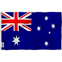 Anley |Fly Breeze| 3x5 Foot Australia Flag - Vivid Color and UV Fade Resistant - Canvas Header and Double Stitched…