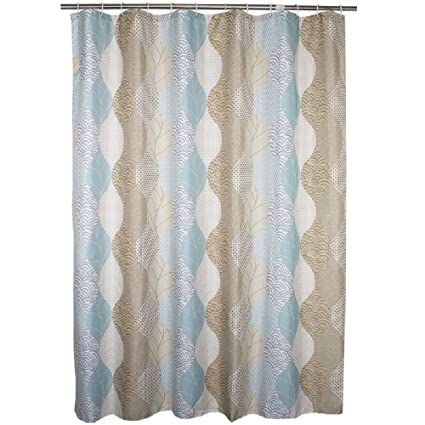 Amazon Ufaitheart Fabric Extra Wide Shower Curtain 96 X 72